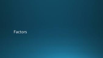IntroductiontoFactors.pptx