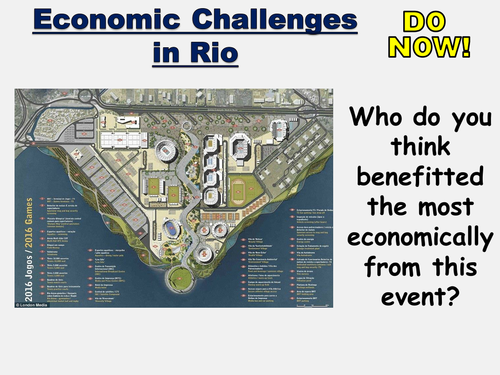 New AQA GCSE- Urban Issues and Challenges Lesson #5