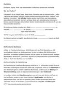 Revised New A- Level Edexcel German topic: Die Medien