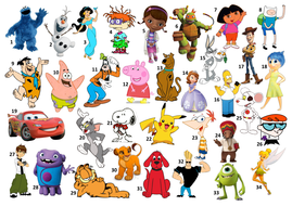 Kids Quiz Name The Cartoon Character By Maths And Quizzes