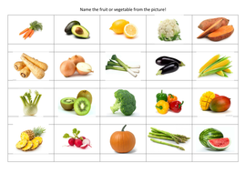 kids quiz name the fruit veg by maths and quizzes teaching