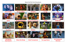 Kids Quiz - Name the Movie! | Teaching Resources