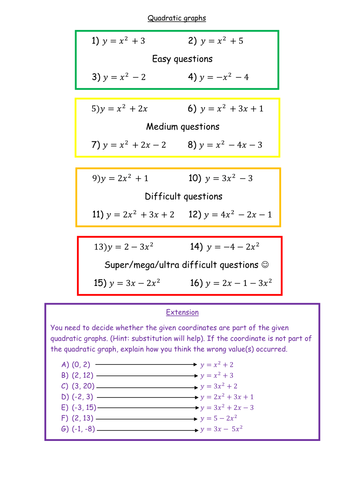 Differentiated-Quadratic-graphs-with-answers.docx