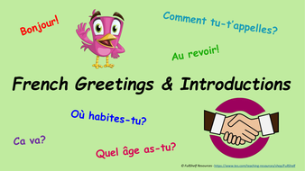 French greetings introductions presentation by fullshelf french greetings introductions presentationpptx m4hsunfo