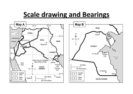 Scale drawing and bearing by sara-turner-montessori