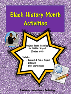 Black History Month Webquest (Internet Scavenger Hunt ...