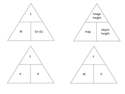 aqa physics 3 p3 formula triangles by benmarsay teaching resources tes. Black Bedroom Furniture Sets. Home Design Ideas