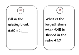 Functional Skills Maths Ratio and Proportion L1 & L2 Work