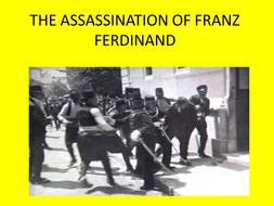 Assassination of Franz Ferdinand Newspaper Report