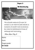 Religious Studies- A-level- Christianity workbook