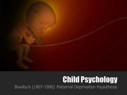 maternal deprivation hypothesis