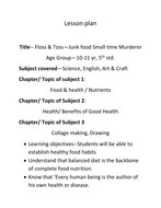 lesson plan food 5th std by geetadhingra teaching resources tes