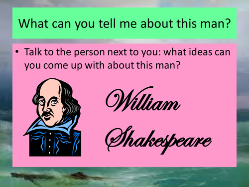 Shakespeare: The Tempest KS3 SOW