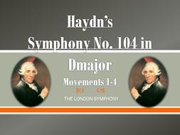 Complete Analysis of Haydn's Symphony No. 104 (Mvts. I, II, III & IV)