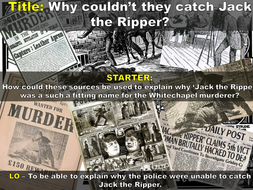 how did the police try to catch jack the ripper
