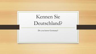 Kennen Sie Deutschland