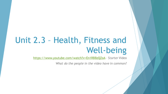 2.3---Health--Fitness-and-Well-being---Powerpoint.pptx