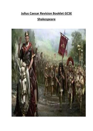 Julius Caesar GCSE Revision Booklet Shakespeare