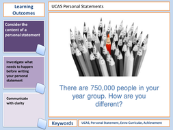 UCAS Personal Statement: An Interactive Session for Ambitious ...