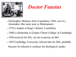 dr faustus as a tragedy