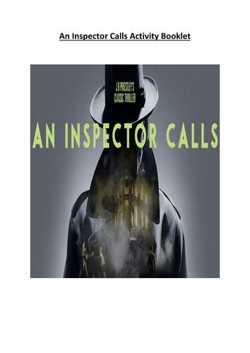 An Inspector Calls Activity Booklet