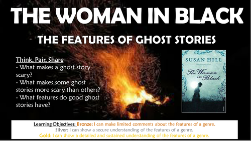 The Woman in Black: The Features of Ghost Stories!