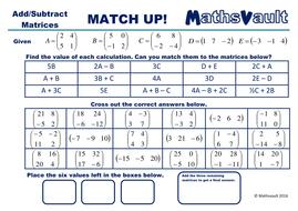 Matrices-Add-Subtract-match-up-MV.pdf
