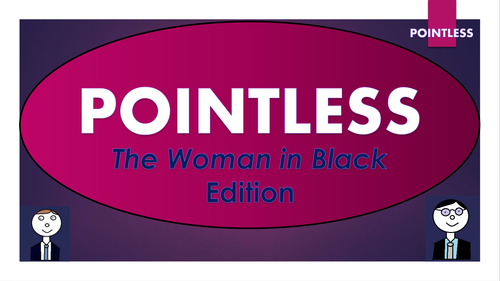 The Woman in Black Pointless Game!
