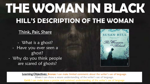 The Woman in Black: Hill's Description of the Woman!