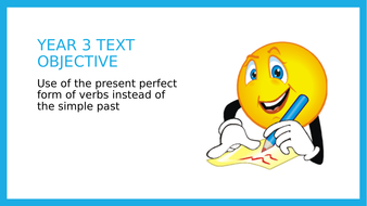 Year 3 SPAG: Present Perfect and Simple Past