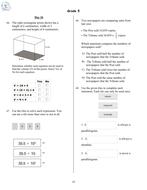 5th Grade Math Morning Work - 5th Grade Spiral Math Review