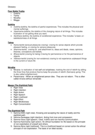 OCR A level Buddhism - Glossary