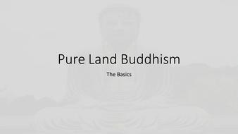 OCR A level Buddhism Pure Land Buddhism