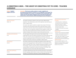 A Christmas Carol: The Ghost of Christmas Yet to Come! | Teaching Resources