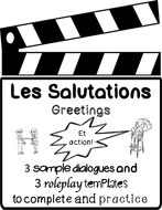 Les salutations french greetings dialogues role plays by les salutations french greetings dialogues role plays m4hsunfo