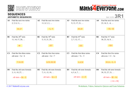 Arithmetic Sequences and Series Worksheet New Ex les Of Arithmetic moreover Patterns And Sequences Worksheet Answers Unique Arithmetic moreover Arithmetic Sequence Worksheets as well  additionally Arithmetic Sequence Worksheet 1 Awesome Word Problems With Answers in addition Arithmetic Sequences  GCSE Topic Review  by Maths4Everyone further Maths worksheet  Sequences from patterns by Tristanjones   Teaching additionally Arithmetic Sequence Worksheet 1 Inspirational Arithmetic Sequences likewise  in addition Arithmetic Sequence Worksheet Alge 2 Worksheets for all in addition Arithmetic sequences review   Alge  article    Khan Academy likewise  in addition Arithmetic Sequence Worksheet Answers Fresh 17 Beautiful Arithmetic as well  likewise  as well Unit 1  Sequences and Series   Mr  Roos  Hempstead High Math. on arithmetic sequence worksheet with answers