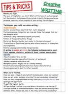 Creative writing essay plan