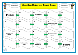 Board game templates for all subjects editable board game preview for board gamespdf pronofoot35fo Image collections