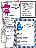 French greetings robots video and writing task by betsybelleteach french greetings robots video and writing task m4hsunfo