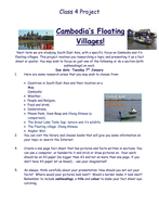 Cambodia Research Project