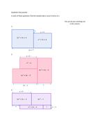 Quadratic Areas Puzzle