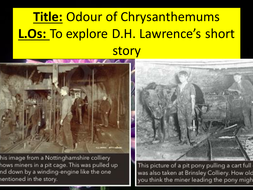 odour of chrysanthemums symbolism