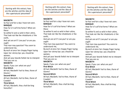 Macbeth AQA exam questions