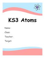KS3 Atoms Booklet