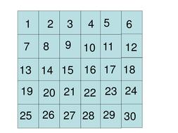 1-25-number-grid.ppt