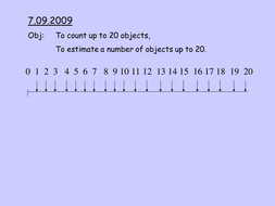 count-to-20-using-number-line.ppt