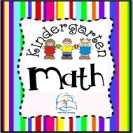 Kindergarten MATH Worksheets | Math Worksheets Kindergarten