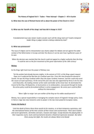 Tudors - Peter Ackroyd - Chp 2 - All in Scarlet - Supporting Worksheet