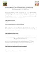 Tudors - Peter Ackroyd - Chp 4 - The woes of marriage  - Supporting Worksheet