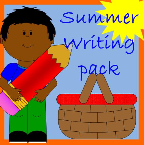 Summer writing activity pack- KS1 /EYFS